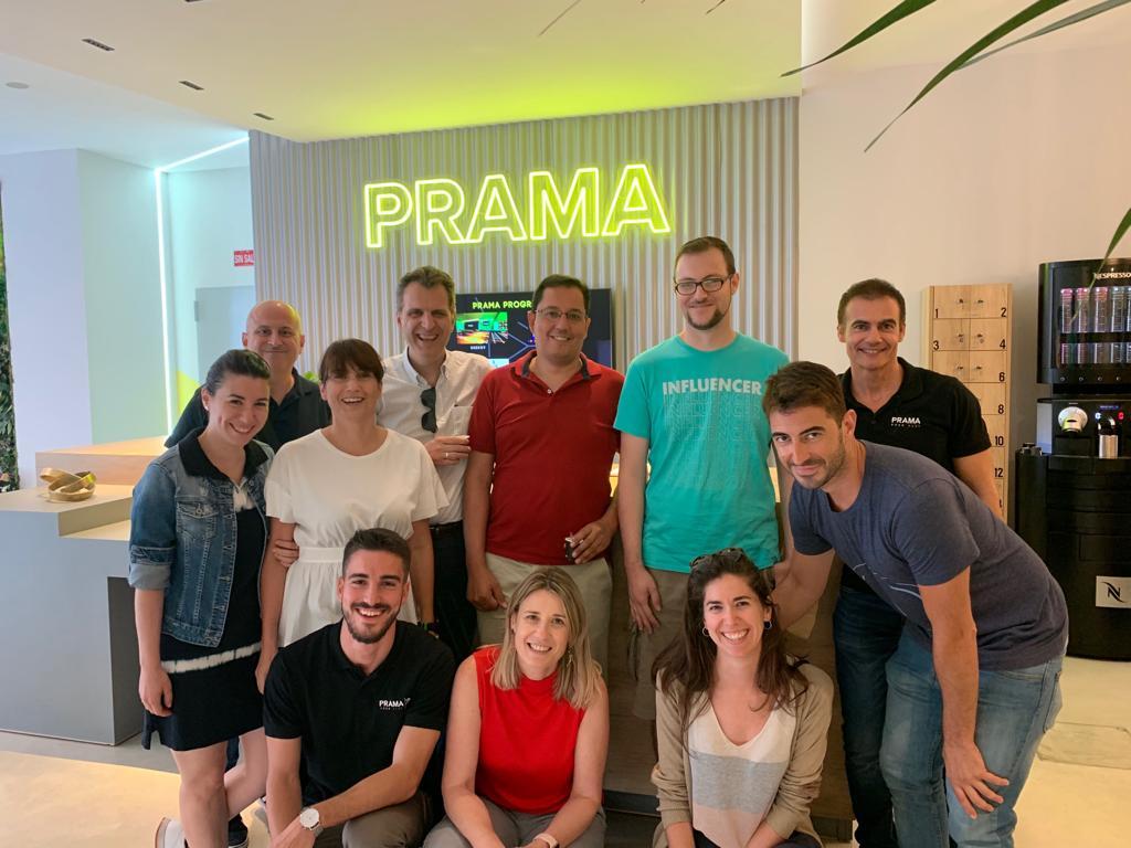 Foto de la visita a PRAMA