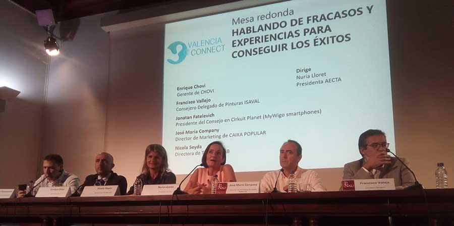 Jonatan Fatelevich, Enrique Chovi, Niki Seyda, Núria Lloret, José María Company y Francisco Vallejo.